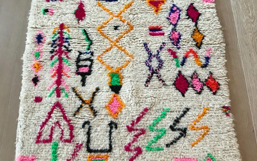 Nedsatte marokkanske tepper