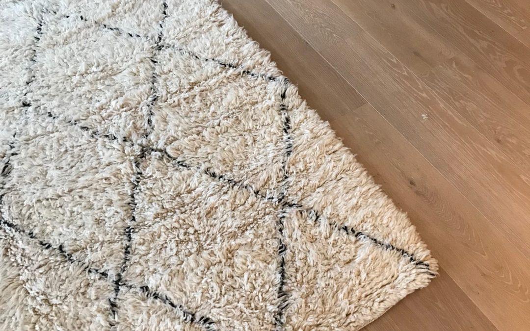Rengjøring av teppe