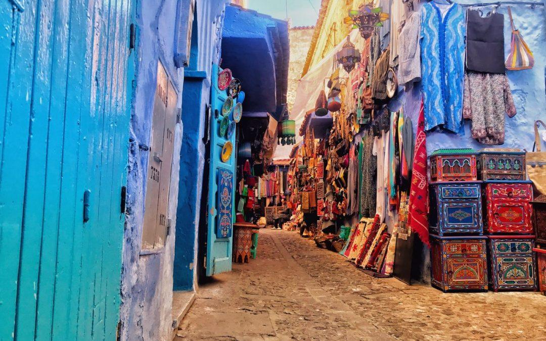Reise: Tanger og Chefchouen