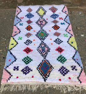 Cosa i Marrakech. Innkjøp av marokkanske tepper.