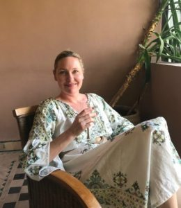 Cosa marokkanske tepper i Marrakech