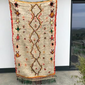 Vintage Azilal fra kolleksjonen av marokkanske tepper