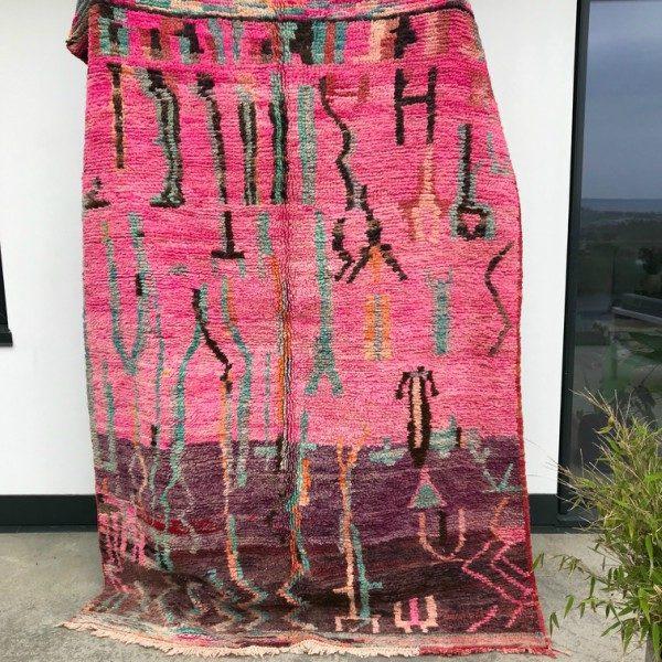 Cosa kolleksjon av marokkanske tepper. Type Bejaad