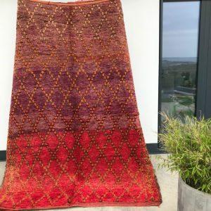 Cosa kolleksjon av marokkanske tepper. Type Talsint.