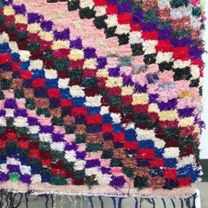 Cosa kolleksjon av marokkanske tepper. Boucherouite.