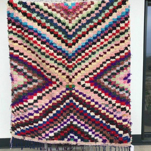 Cosa kolleksjon av marokkanske tepper. Type boucherouite