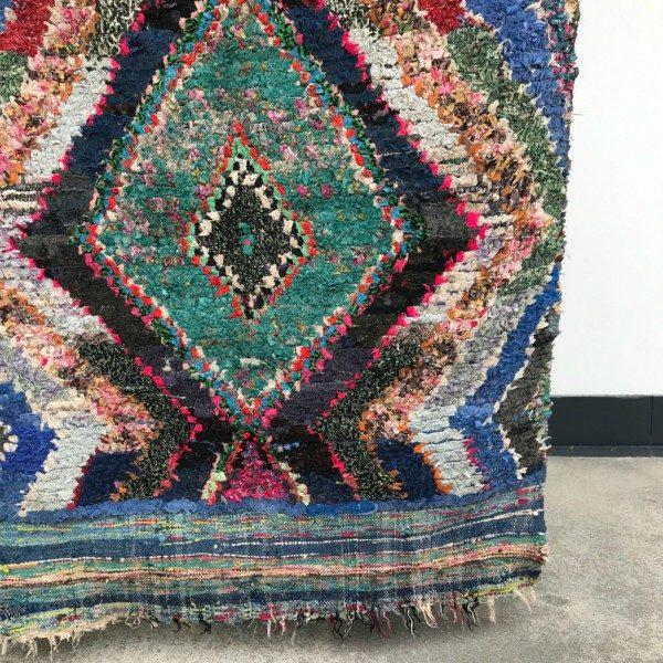 Cosa kolleksjon av marokkanske tepper. Boucherouite