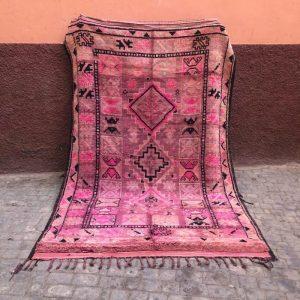 Bejaad teppe 295 x 187. Vintage og vakkert. Helt unikt. Vevd for hånd i Marokko.