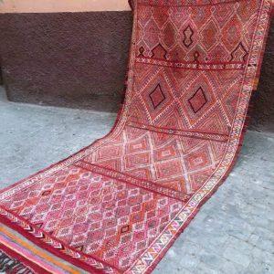 Nydelig vintage kelim fra Marokko.