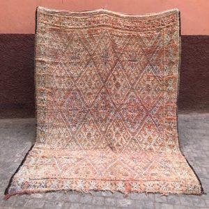 En drøm av et marokkansk vintageteppe!