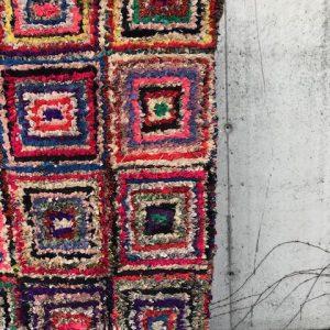 Vakker og unik boucherouite teppe fra Marokko.