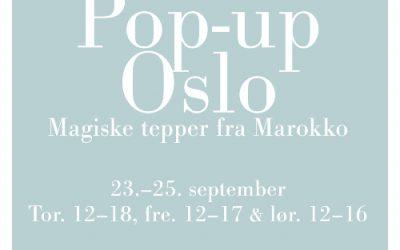 POP-UP Oslo torsdag – lørdag
